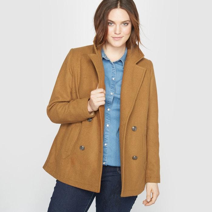 Image 42% Wool Reefer Jacket CASTALUNA