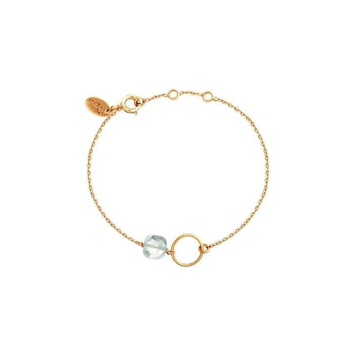 Bracelet doré aigue marine fidji bleu Caroline Najman | La Redoute Meilleure Vente Vente En Ligne Originale Sortie h3ghS