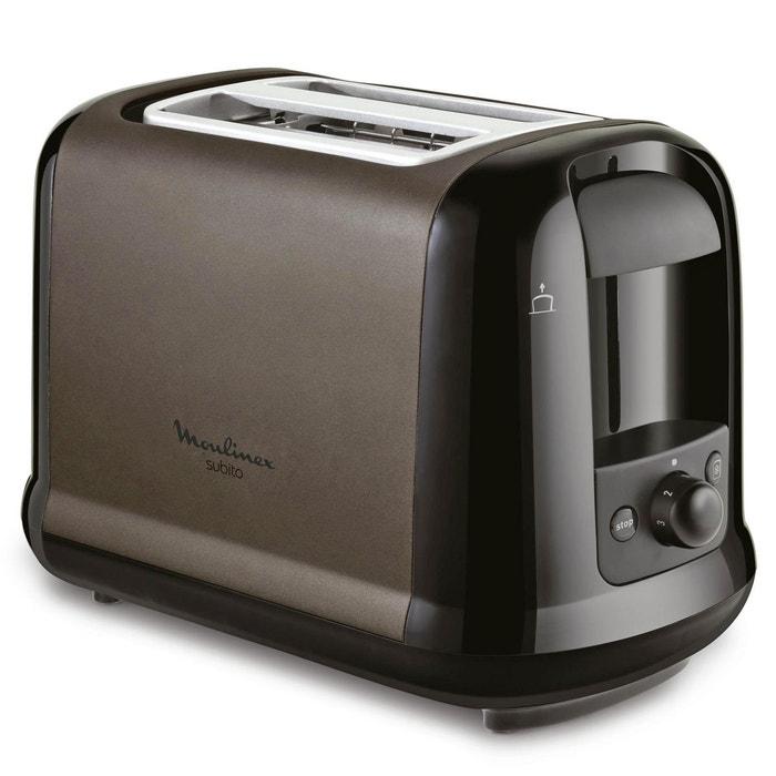 toaster subito lt260f11 taupe moulinex la redoute. Black Bedroom Furniture Sets. Home Design Ideas