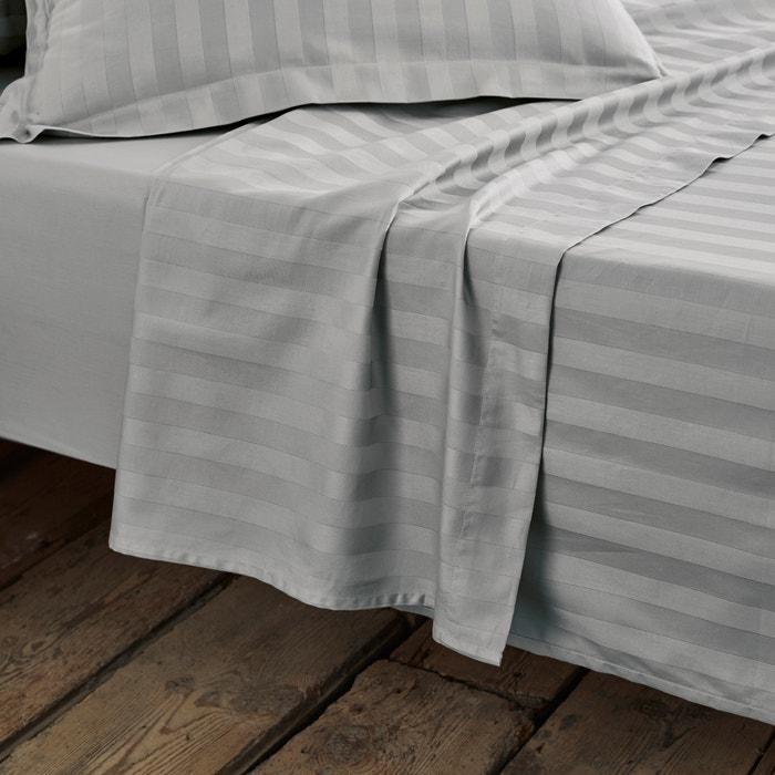 Image Lenzuolo, satin di cotone, tessitura a righe La Redoute Interieurs