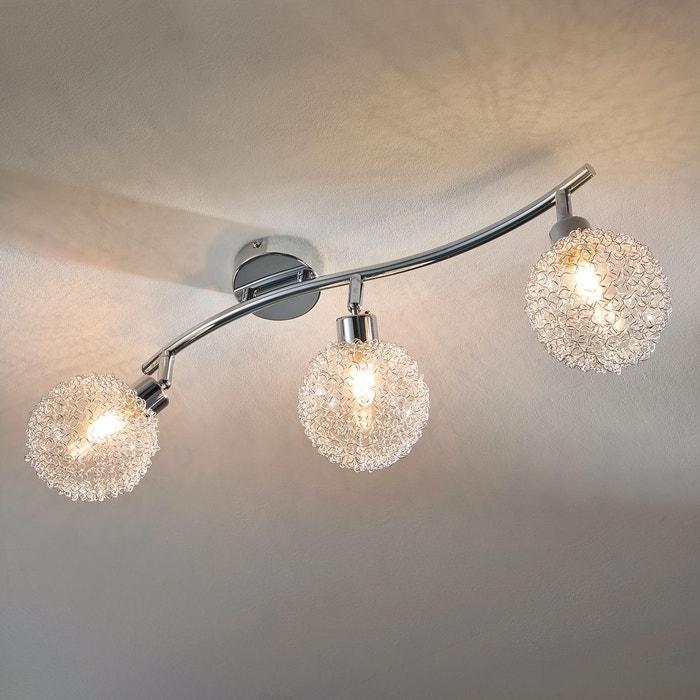 Plafonnier Led U00e0 Trois Lampes Ticino Argent Chromu00e9 Lampenwelt | La Redoute