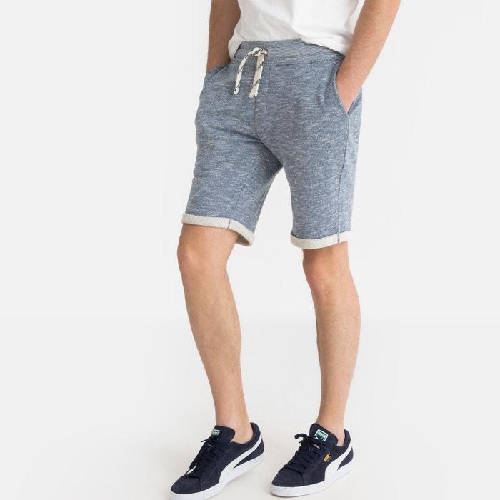 Shorts lungo in tessuto felpato fiammato Shorts lungo in tessuto felpato fiammato LA REDOUTE COLLECTIONS