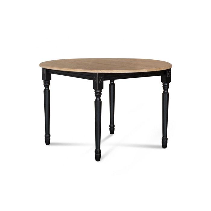 Table extensible ronde bois à rallonges - 115 cm - pieds tournés - victoria  Hellin, Depuis 1862   La Redoute 9a9401e56725