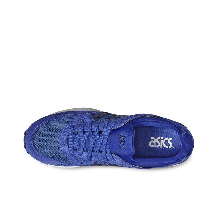 Baskets synthétique bleu Asics