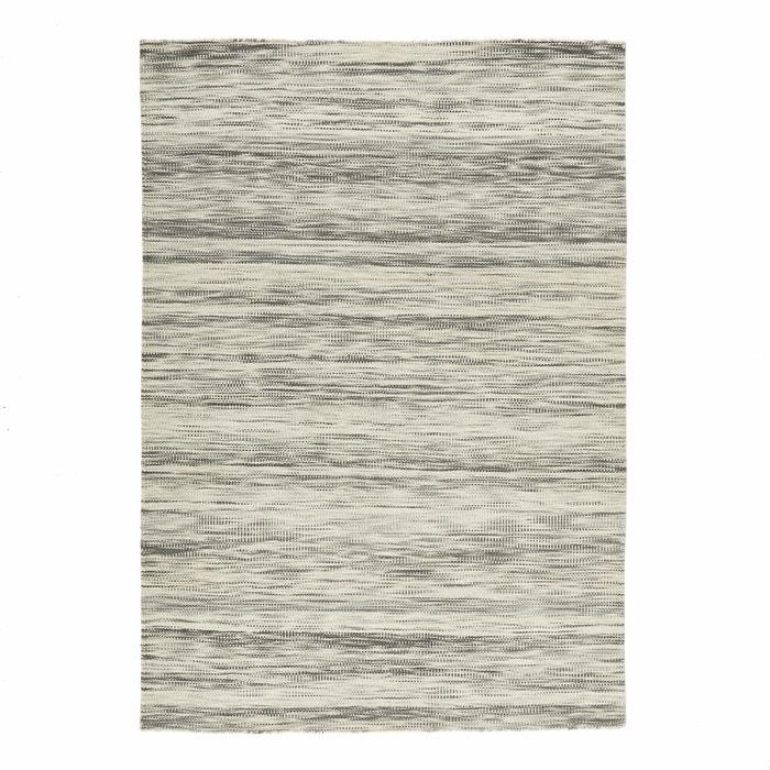 teppich pic ne kelim stil wolle flach gewebt grau am pm la redoute. Black Bedroom Furniture Sets. Home Design Ideas