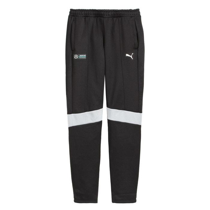 d8dddc4ea6153 Pantalon de sport mercedes amg noir/blanc Puma | La Redoute