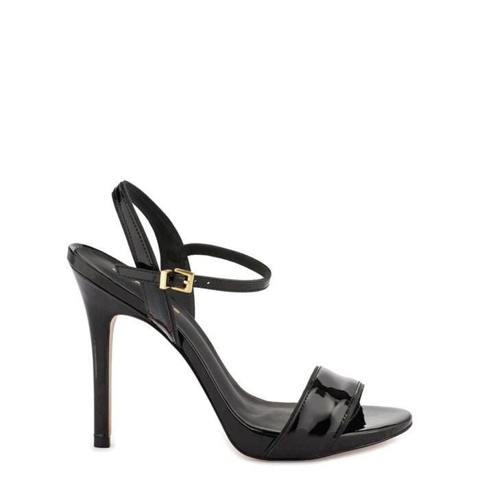 Sandales cuir jadia noir verni Cosmoparis Nouveau Style De La Mode cdwzKPE