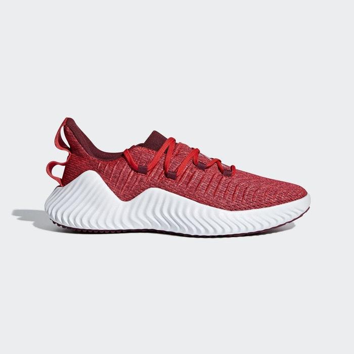 pretty nice c1b8f 3f1c6 Chaussure alphabounce rouge Adidas Performance  La Redoute