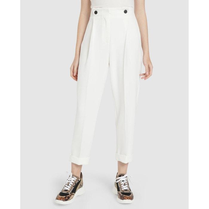 véritable bonne qualité grande vente Pantalon large taille haute