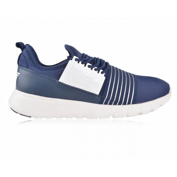 Basket ea7 emporio armani racer slip trainers - 278066-6a299-06935 bleu Ea7