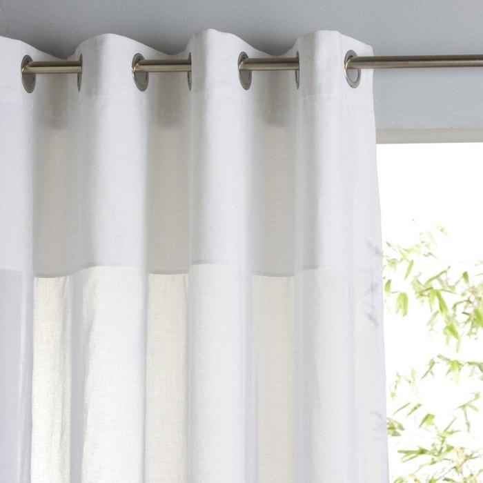 Cortinado, puro algodão, ilhós, Osmain La Redoute Interieurs