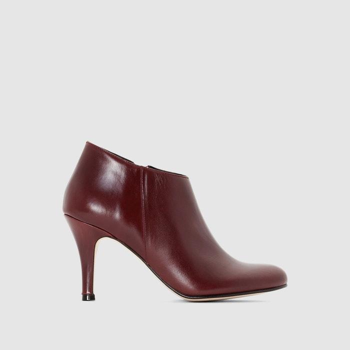 Image Boots cuir à talon aiguille 10713 JONAK