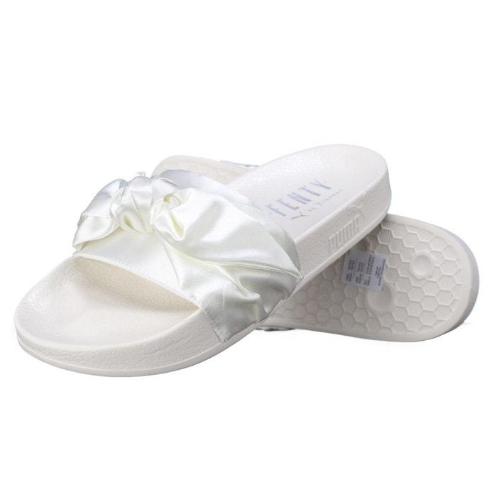 sandale puma bow slide wns 365774 02 silver blanc puma la redoute. Black Bedroom Furniture Sets. Home Design Ideas