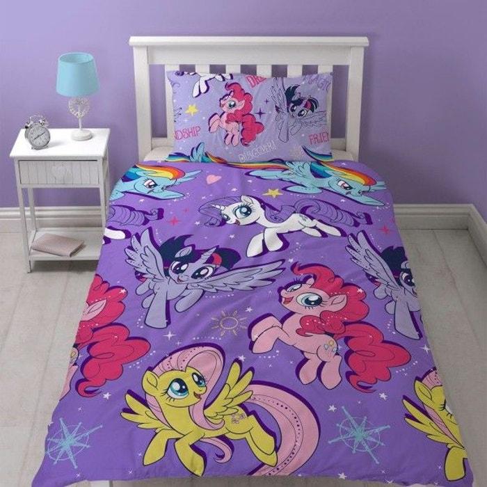 mon petit poney parure de lit housse de couette enfant multicolore mon petit poney la redoute. Black Bedroom Furniture Sets. Home Design Ideas