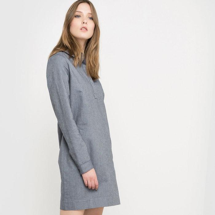 robe chemise made in france bleu denim la redoute. Black Bedroom Furniture Sets. Home Design Ideas