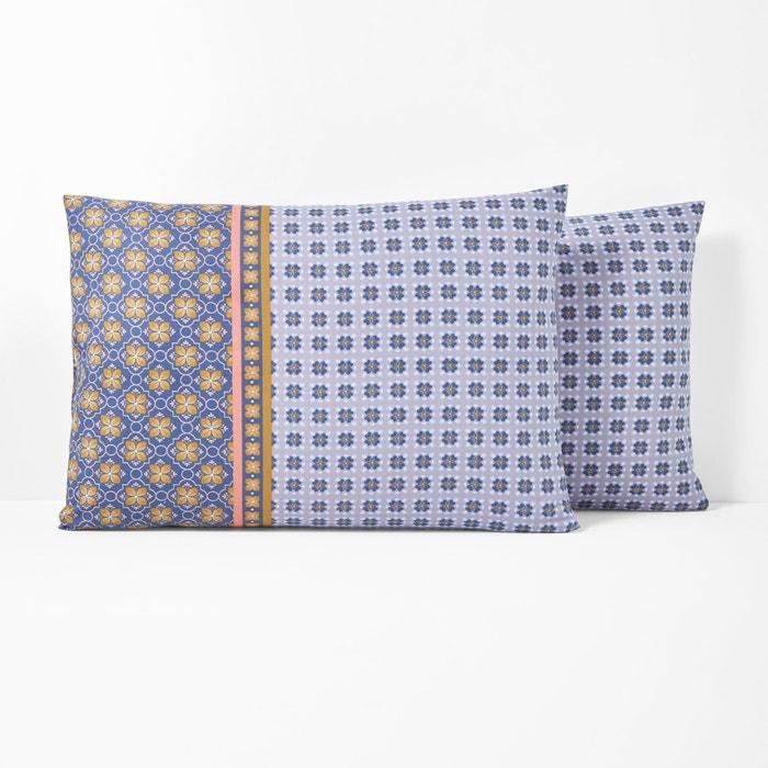 AMELIA Printed Cotton Pillowcase  La Redoute Interieurs image 0