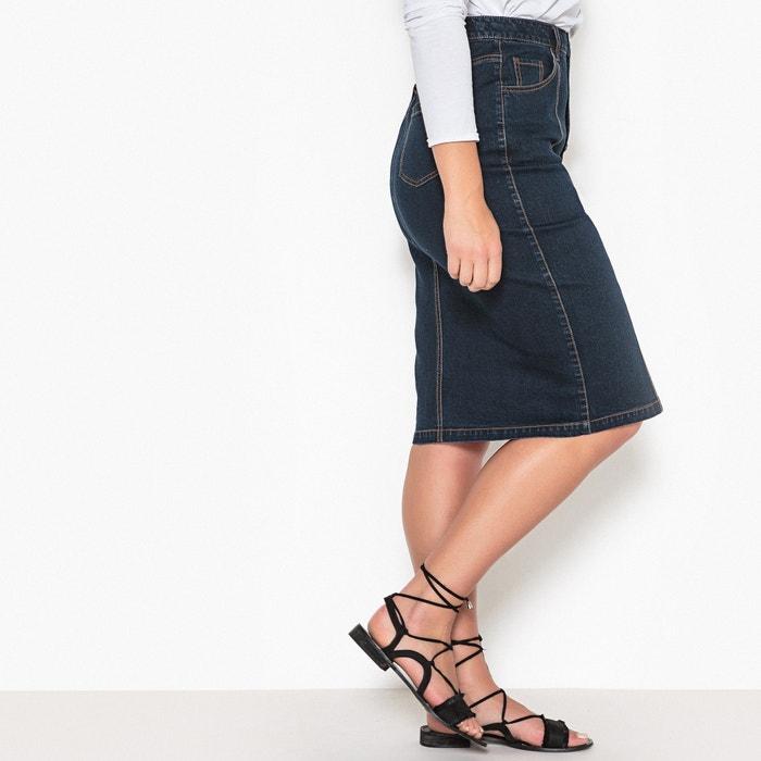 Denim Pencil Skirt  CASTALUNA image 0