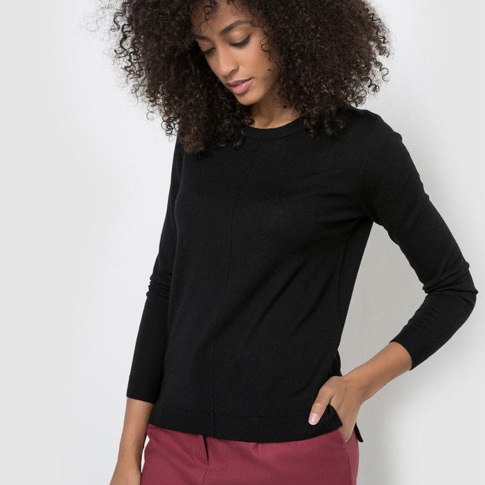 Imagen de Jersey Merinos de cuello redondo, 100% lana merina R essentiel