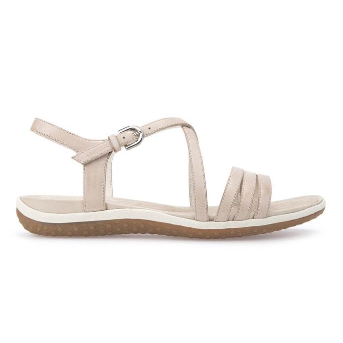 069475c6afb84 Sandales cuir d sandal vega c rose Geox La Redoute WNR775MN -  destrainspourtous.fr