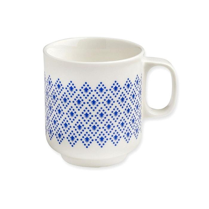 mug g om trie bleue indigo mr mrs clynk bleu mr et mrs clynk la redoute. Black Bedroom Furniture Sets. Home Design Ideas