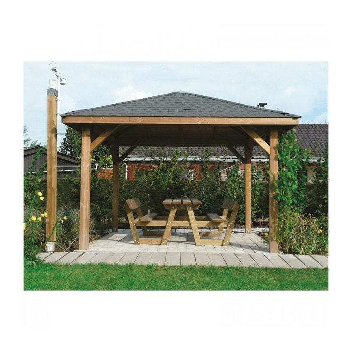 Solid Abri de Jardin Maisonnette Chalet de Jardin Kiosk 629x347