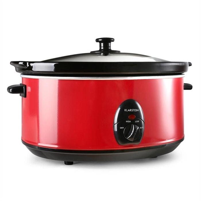 Bristol 65 mijoteuse cocotte 6,5 litres cuisson lente 300w ...