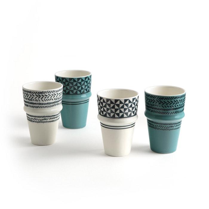 afbeelding Mug Adid (set van 4) La Redoute Interieurs