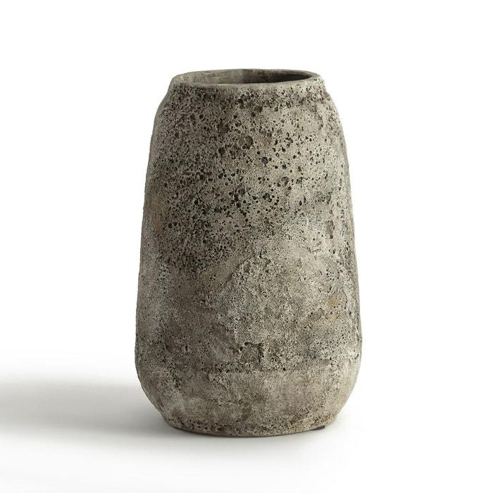 vase en ciment 22 cm serax gr ge am pm la redoute. Black Bedroom Furniture Sets. Home Design Ideas
