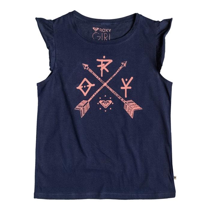 T-shirt estampada, com folhos nas mangas, 8-16 anos  ROXY image 0