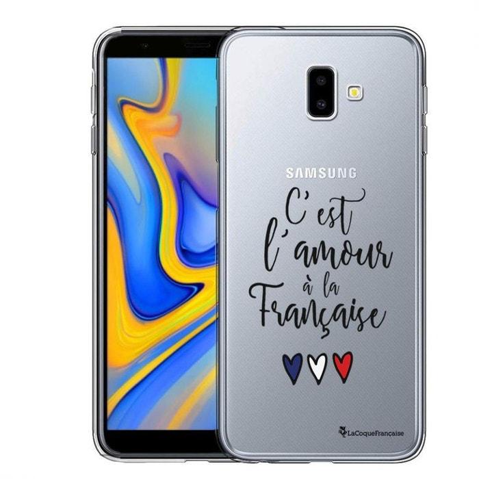 c7540377ec4ec Coque samsung galaxy j6 2018 souple transparente, c'est l'amour à la ...