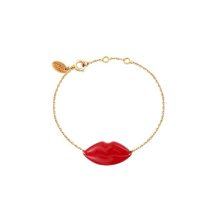 Bracelet doré lips rouge Caroline Najman | La Redoute Apprendre À Acheter En Ligne Faible Vente D'expédition En Ligne Mode En Ligne vraiment Offres En Vente En Ligne qWCVCP