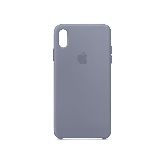 coque iphone xs max gris lavande