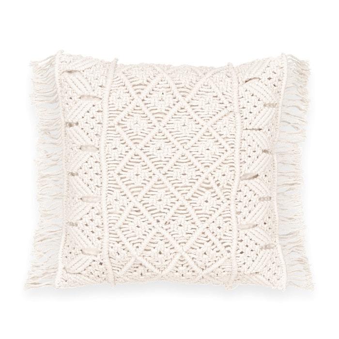 Sparta Cotton Cushion Cover  La Redoute Interieurs image 0