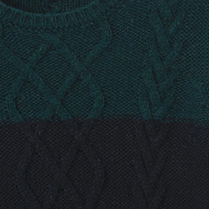 Image Pull treccia bicolore 3-12 anni La Redoute Collections