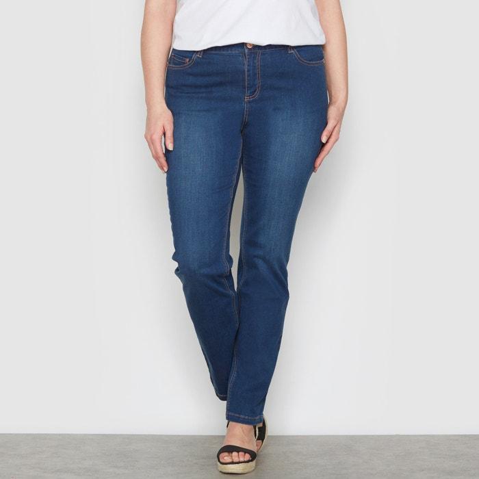 "Image Jeans straight stretch ""curve generose"" cavallo 78 cm CASTALUNA"