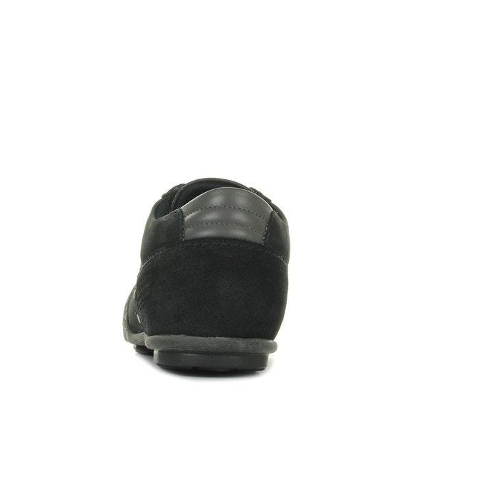 Baskets homme turin chambray noir, gris Le Coq Sportif