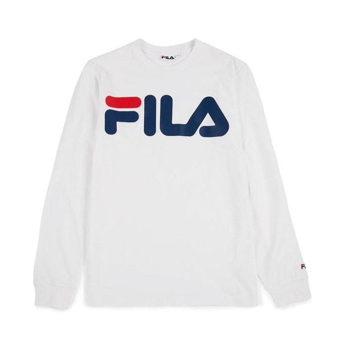 Tee Shirt Classic Logo LongSleeve Grey Melange FILA image 0