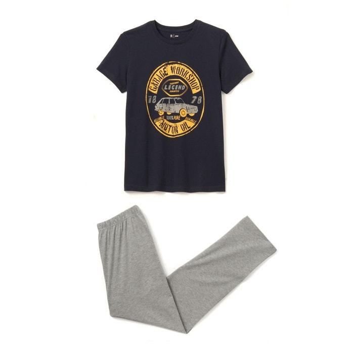 Pyjama coton à motif 10-16 ans