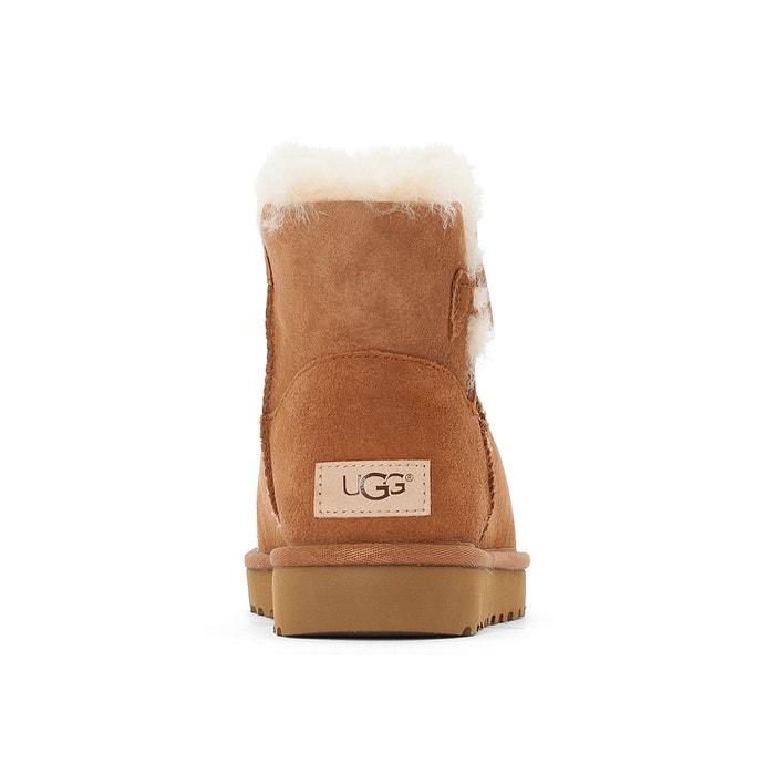 Boots fourrées Mini Bailey Button II - UGG - NoisetteUGG phG5z