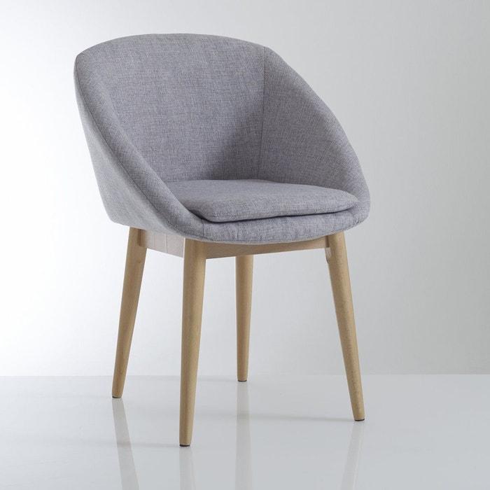 Fauteuil de table jimi la redoute interieurs la redoute for La redoute chaise