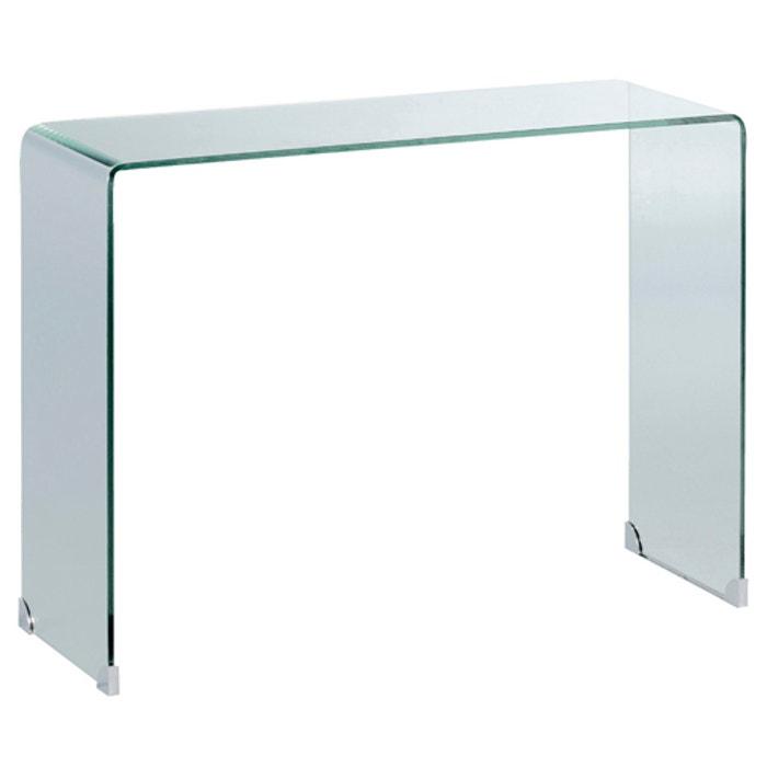 Cristalline Tempered Glass Console Table , Transparent, Am.Pm | La Redoute