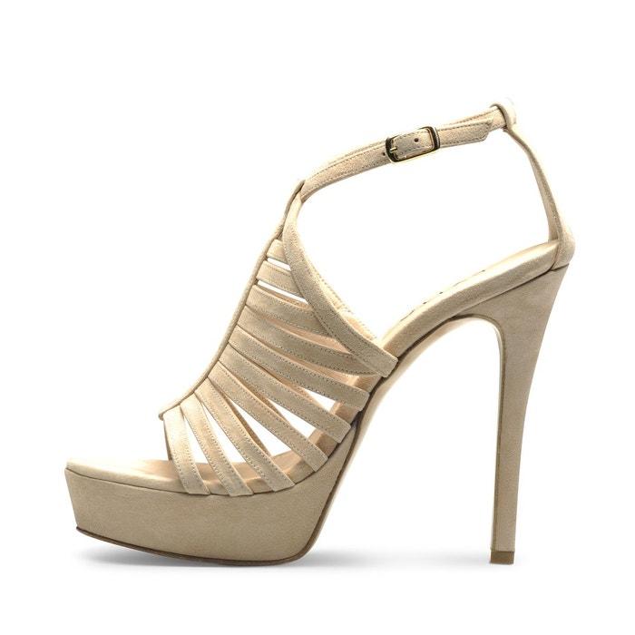 Sandales femme nude Evita