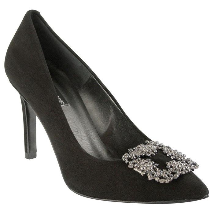 Chaussures à talons trudy noir Exclusif Paris