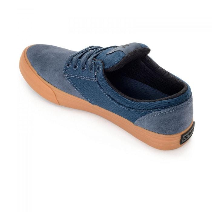 Chaussures chino navy/gum bleu Supra