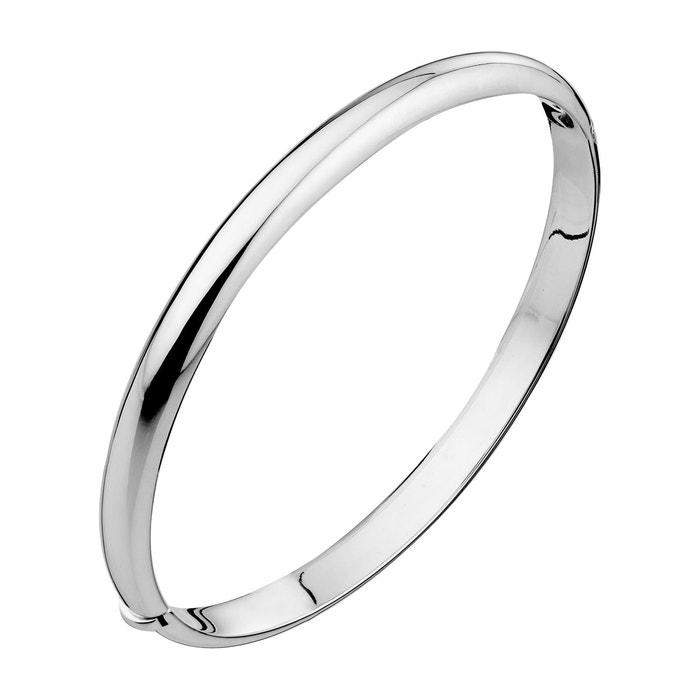 Bracelet jonc oval articulé en argent 925 argent Canyon | La Redoute Moins Cher À Prix En Ligne Vente Amazon 65MroNWBWd