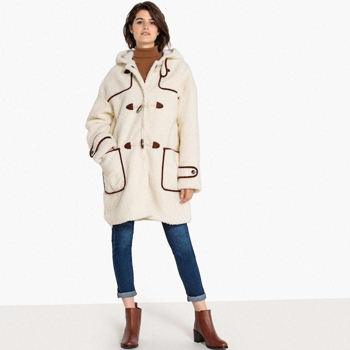 Duffle coat imitation fourrure  LA REDOUTE COLLECTIONS image 0