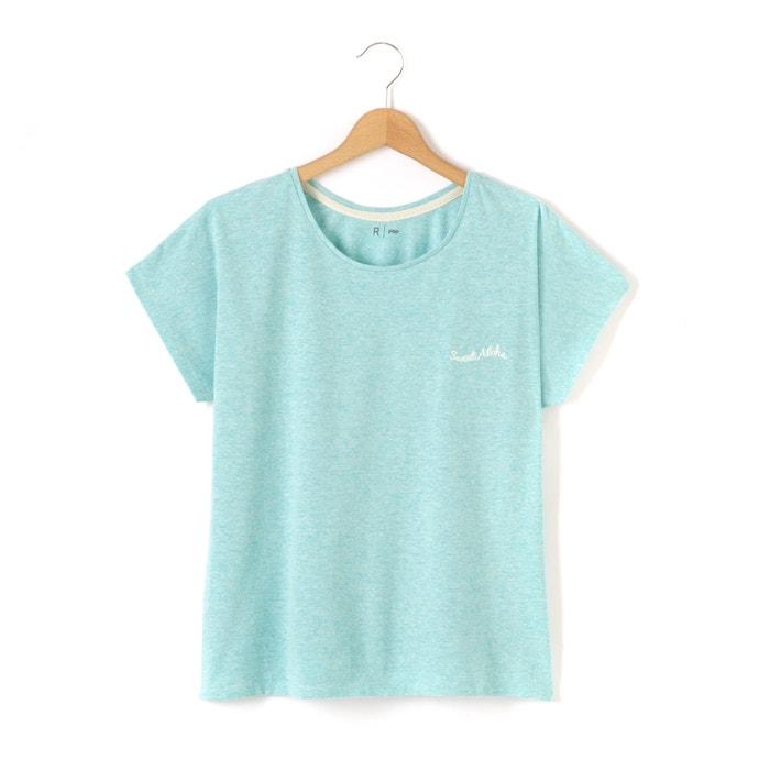 afbeelding Bedrukt T-shirt 10-16 jr La Redoute Collections