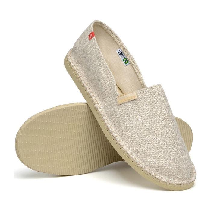 Chaussure espadrilles origine premium 3 beige beige Havaianas
