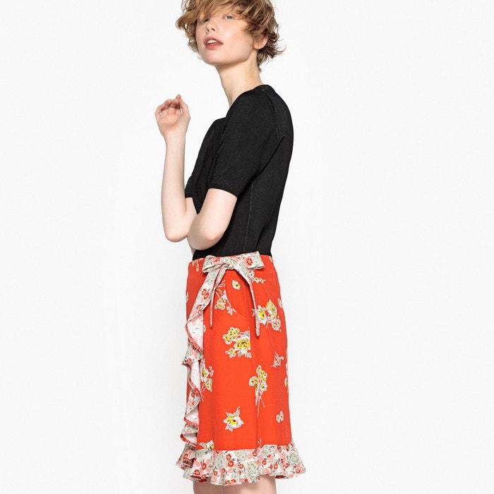 Printed Ruffled Skirt  MADEMOISELLE R image 0