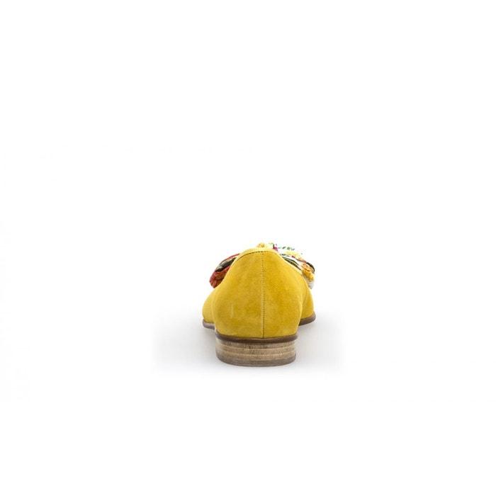 Ballerines jaunes Gabor